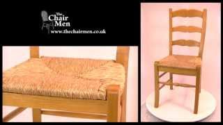French Ladder Back Chair Video