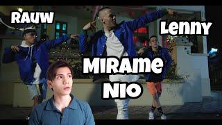 Nio Garcia, Rauw Alejandro, Lenny Tavarez - Mirame    Reaccion