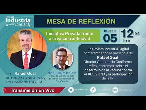 MESA DE REFLEXIÓN: INICIATIVA PRIVADA FRENTE A LA VACUNA ANTICOVID