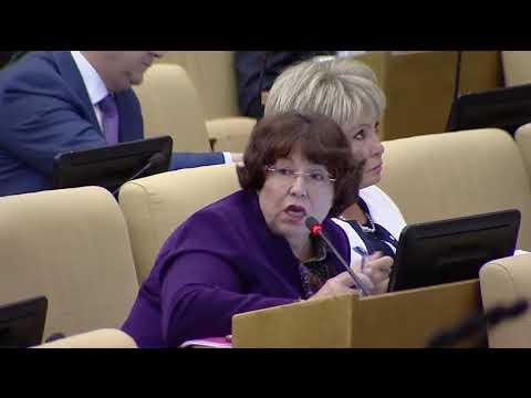 Пленарное заседание Государственной Думы 05.06.2018 (12.33 - 15.00) ( Госдума )