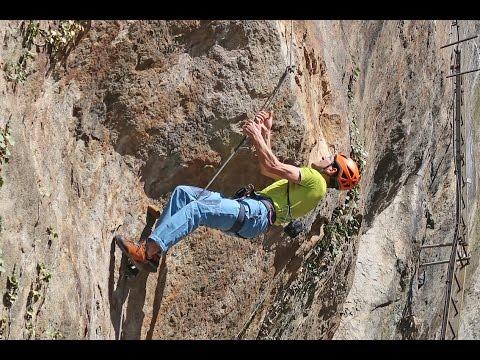 Fürenwand Klettersteig Unfall : Klettersteig fürenwand via ferrata engelberg youtube