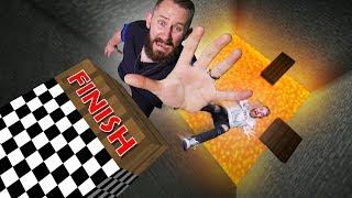 Rising Lava Race! | Minecraft [Ep 24]