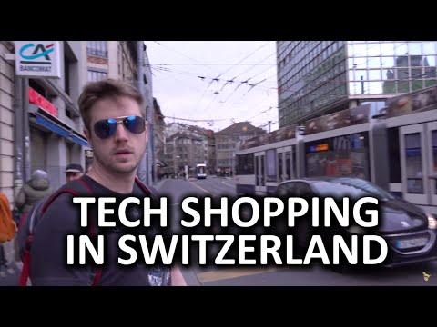 Tech Shopping Around the World - Switzerland