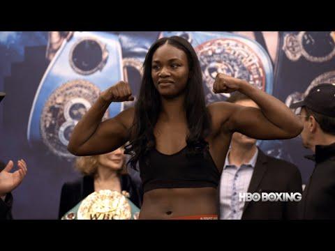Cecilia Braekhus vs. Aleksandra Magdziak-Lopes Final Weigh In