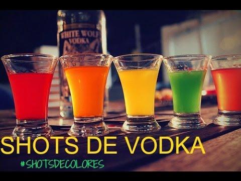 Shots De Vodka De Sabores Y Colores Bebidas Fiesta Youtube