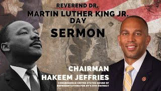 Congressman Hakeem Jeffries | Sermon Replay | First Baptist Church of Crown Heights