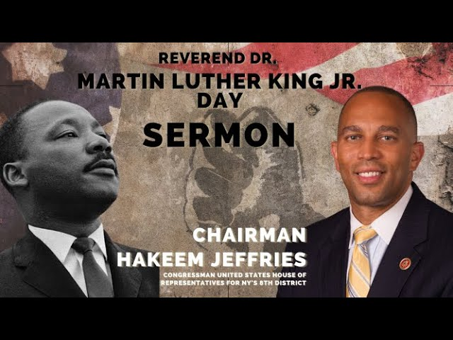Congressman Hakeem Jeffries | Sermon Replay | First Baptist Church of Crown Heights