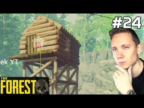 The Forest PL Gameplay [#24] DOMEK nam Stoi /z Paweł