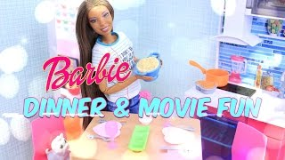 Unbox Daily:  Dining Set & Kitten Playset Review - Dollhouse Accessories - 4K