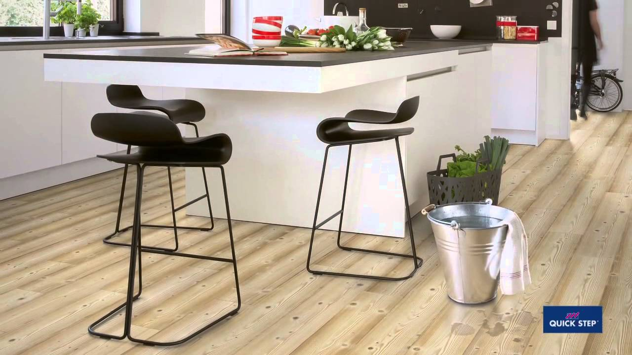 Quick Step Impressive Waterproof Laminate Flooring   YouTube