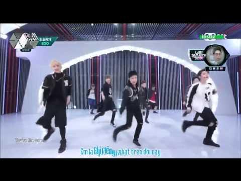 [EXOism Vietsub] Call Me Baby - EXO @ M!Countdown (Live)