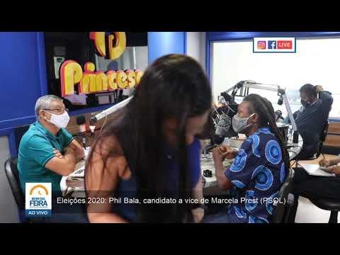 Eleições 2020: Conheça Phil Bala, candidato a vice de Marcela Prest (PSOL)