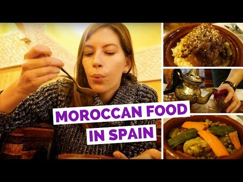 Moroccan Food Review in Granada, Spain