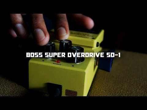 Boss Super OverDrive ( Review And Demo  )