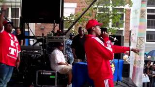 (EDIT) Lil SNS Performing @ Harlem Week On The HOT 97 STAGE.