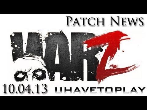 The WAR Z Patch News! 10.03.12