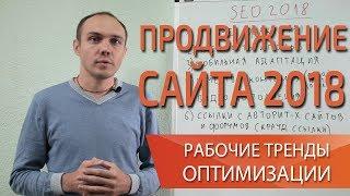 Продвижение сайта 2018: тренды seo оптимизации и продвижение сайта в поиске — Максим Набиуллин