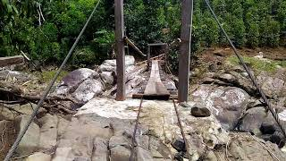 [280.74 KB] Jembatan gantung utk akses ke kebun lada/sahang