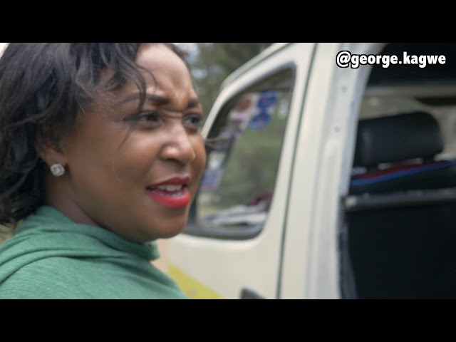 Betty Kyallo Gets Into A Matatu With Mpesa Lady - George Kagwe