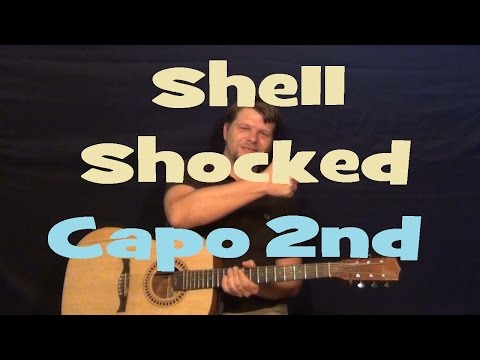 Shell Shocked (Juicy J) Easy Guitar Lesson How to Play Tutorial