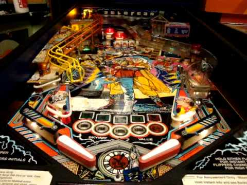 Back To The Future Pinball Video