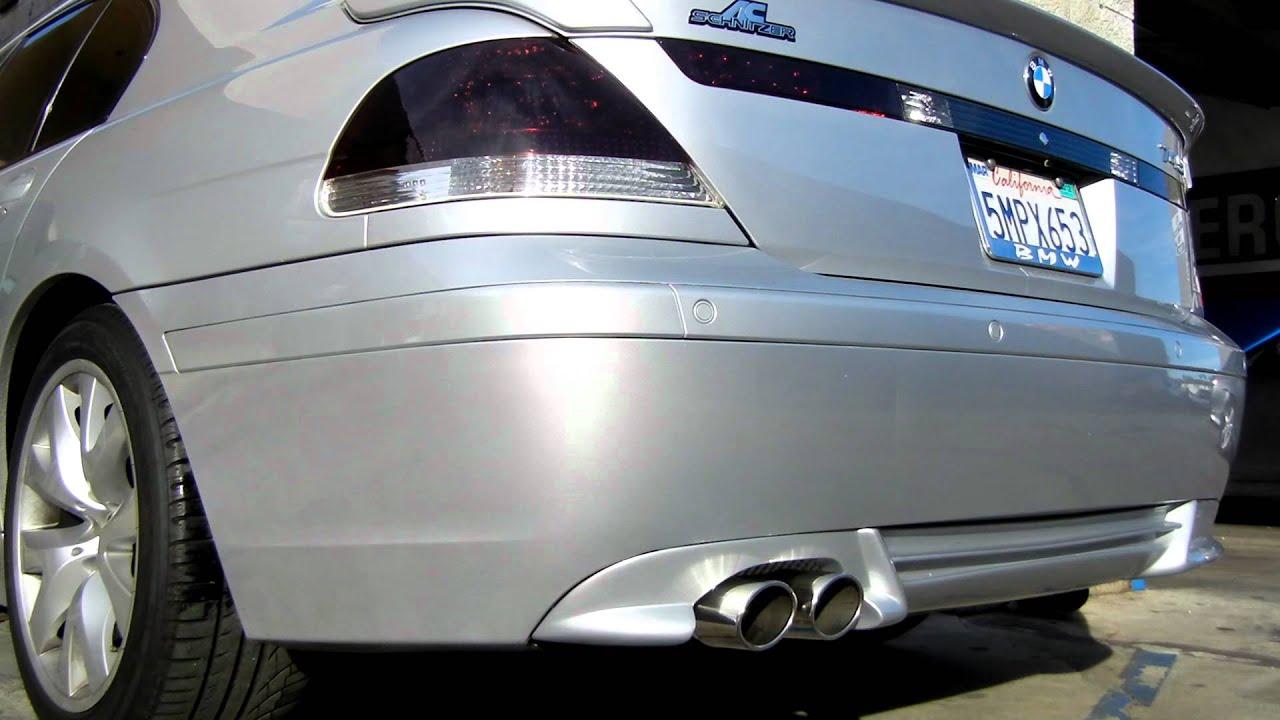 BMW 745i Custom Magnaflow Exhaust By European Vision Autoworks