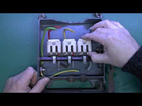 Old Electrical Switchgear and Fuseboard