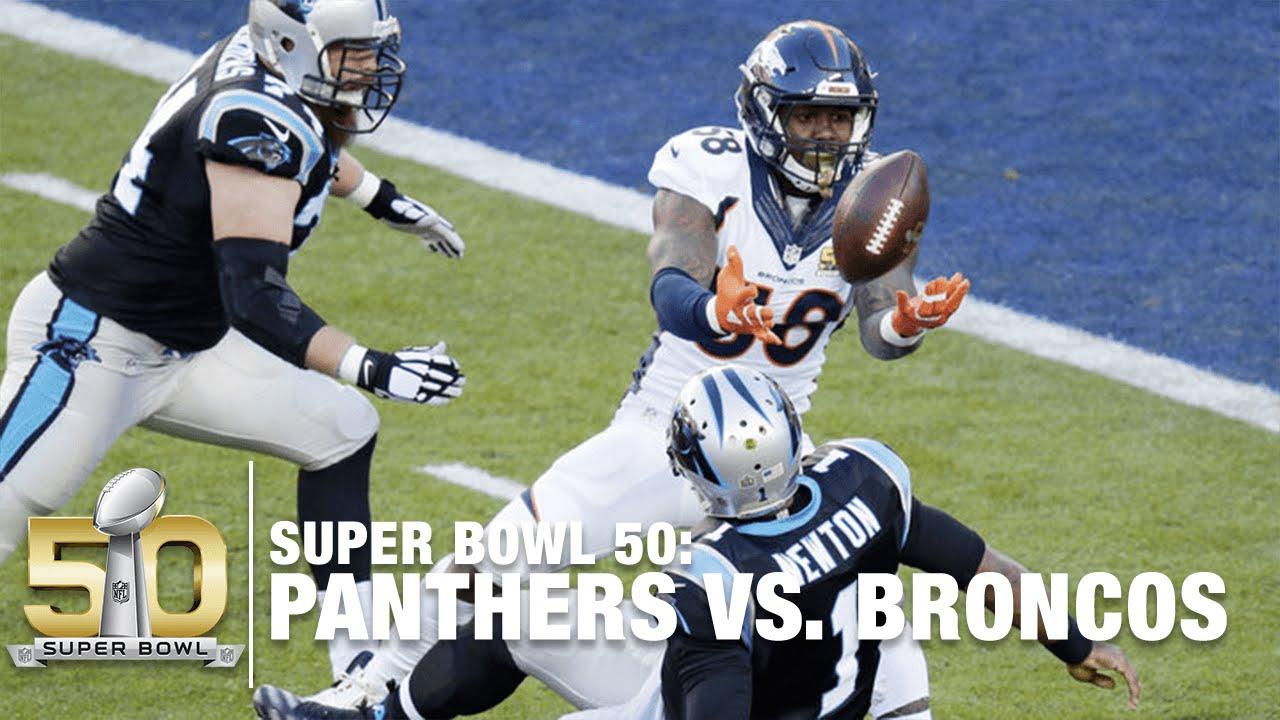 Von Miller Makes MVP Case with Strip Sack on Cam Newton! | Panthers vs. Broncos | NFL