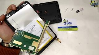 how to disassemble  Alcatel OneTouch Pixi 3 4013D Take Apart Tutorial