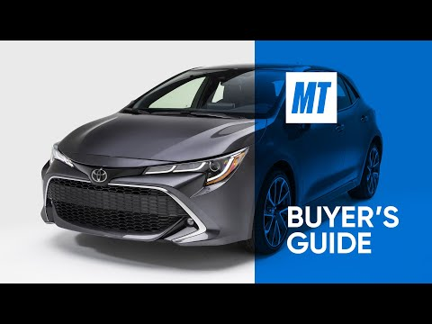 REVIEW: 2021 Toyota Corolla Hatchback | MotorTrend Buyer's Guide