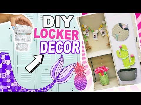 Best DIY Locker Decor | Easy Fun Back To School Crafts Compilation