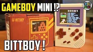 BittBoy + 300 игр Обзор портативной консоли