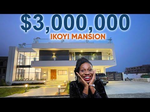 Inside $3 Million 6 Bedroom Mansion in Ikoyi, Lagos Nigeria