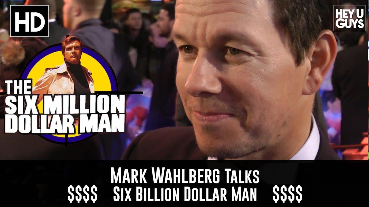 Download Mark Wahlberg talks The Six Billion Dollar Man