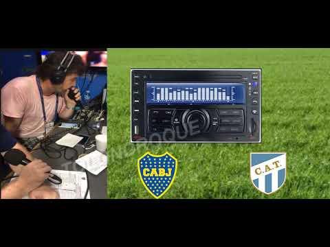 (Relator Enojado Daniel Mollo) Boca - Atl Tucuman. Liga Argentina