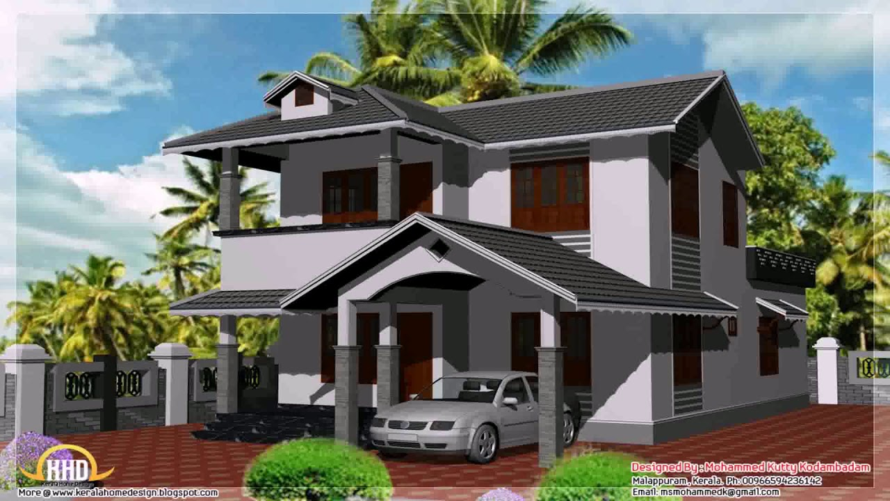 house paint design in kerala youtube