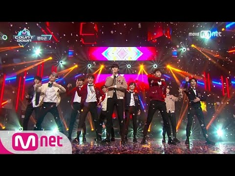 [PENTAGON - Pretty Pretty] KPOP TV Show | M COUNTDOWN 170119 EP.507