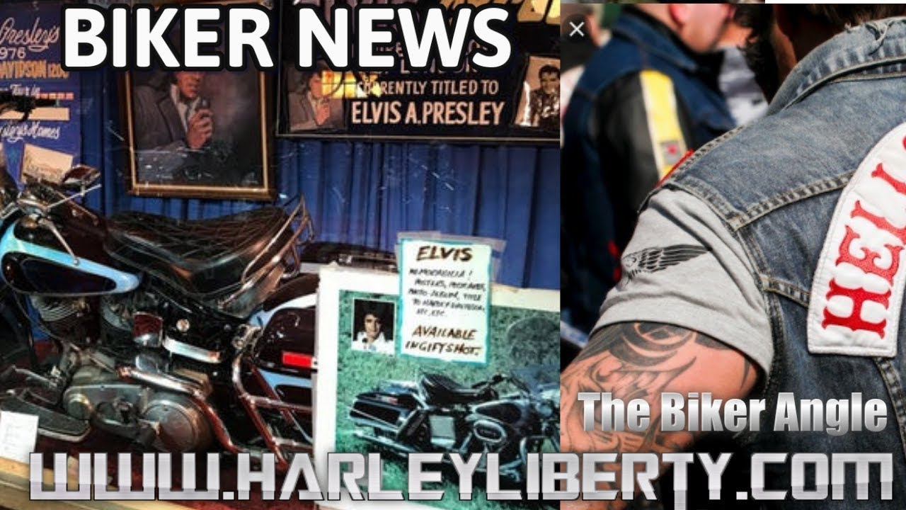 Biker News He$$s Angels MC New and Elvis Presley motorcycle goes to auction