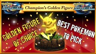 New Golden Figure Reward for Tornament Pokemon Duel