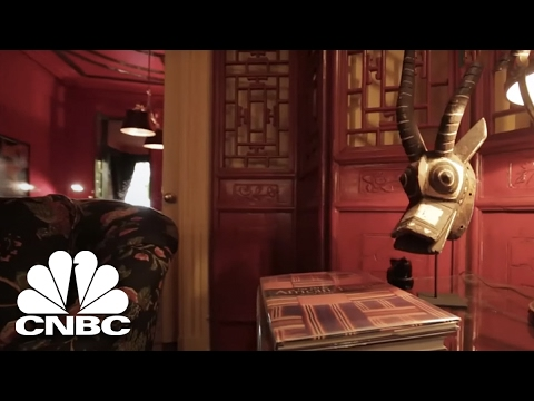 $28 Million NYC Townhouse Has A Big Secret | Secret Lives Super Rich | CNBC Prime