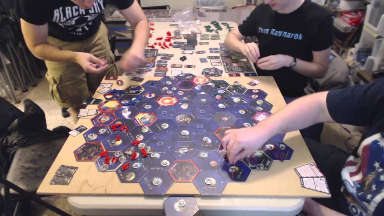 Twilight Imperium 8 hour game in 30 mins - Twilight Imperium 3rd Edition  Time Lapse (4X board game)