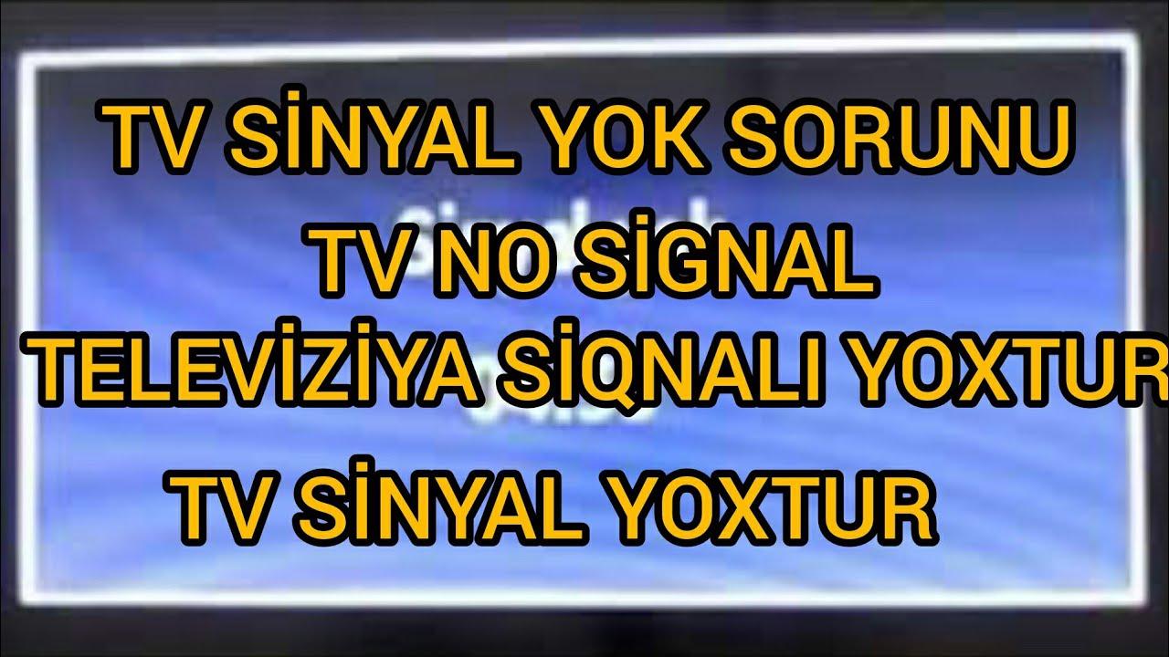 TV-UYDU SİNYAL YOK SORUNU VE ÇÖZÜMÜ DETAYLI ANLATIM