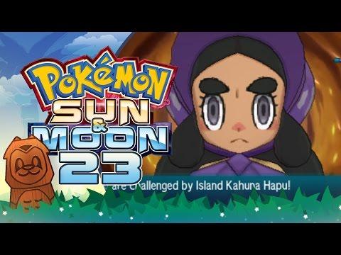Pokemon Sun & Moon! #23: Kahuna Hapu, Poni Island Grand Trial!