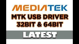 MTK (MediaTek Drivers) Installation Process Any Windows 64 bit & 32 bit