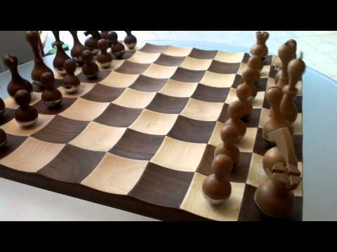 $249 Wobble Chess Set by Umbra