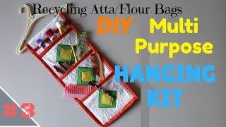 DIY Multipurpose Hanging Kit | Recycling Atta/Flour Bags