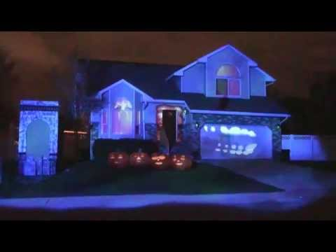 Bates Haunt 2013 - Halloween Projection Mapping Show