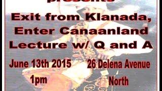 Canaanland Moors Exit from Klanada, enter Canaanland