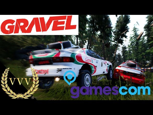 Gravel Trailer Gamescom 2017