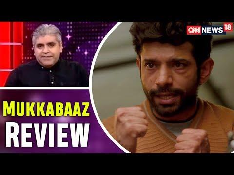 Rajeev Masand Review of Mukkabaaz |...